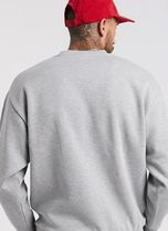 ASOS Sweatshirts Crew Neck Sweat Blended Fabrics Street Style Long Sleeves 9