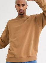 ASOS Sweatshirts Crew Neck Sweat Blended Fabrics Street Style Long Sleeves 15