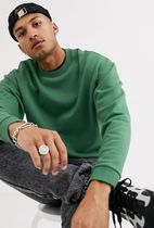 ASOS Sweatshirts Crew Neck Sweat Blended Fabrics Street Style Long Sleeves 17