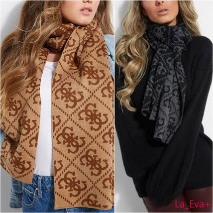 Street Style Heavy Scarves & Shawls