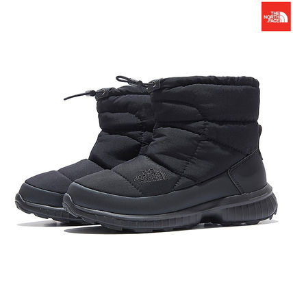 THE NORTH FACE Argile Straight Tip Mountain Boots Unisex Faux Fur