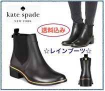 kate spade new york Rubber Sole Rain Boots Boots