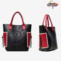 Desigual Faux Fur Handbags