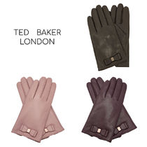 TED BAKER Wool Cashmere Leather Leather & Faux Leather Gloves