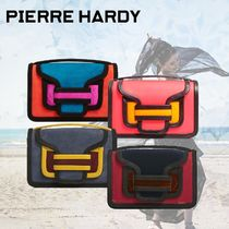 Pierre Hardy Casual Style Suede 2WAY Plain Shoulder Bags