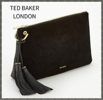 TED BAKER Casual Style Suede Clutches