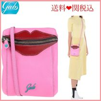gabs Casual Style Plain Leather Shoulder Bags
