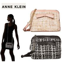 Anne Klein Gingham Other Check Patterns Casual Style Chain