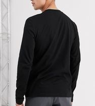 ASOS Long Sleeve Crew Neck Street Style Long Sleeves Plain Cotton 5