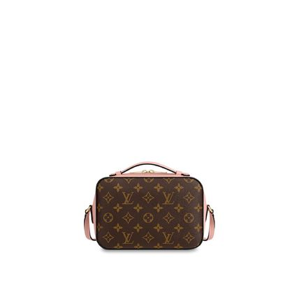 Louis Vuitton Shoulder Bags Monogram Calfskin 2WAY Plain Elegant Style Shoulder Bags 7