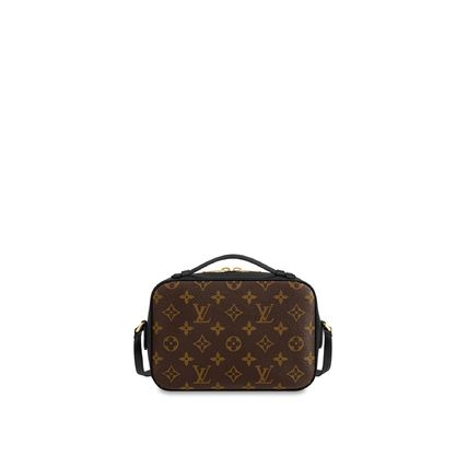 Louis Vuitton Shoulder Bags Monogram Calfskin 2WAY Plain Elegant Style Shoulder Bags 11