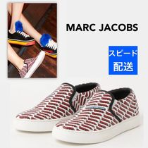 MARC JACOBS Round Toe Rubber Sole Casual Style Street Style
