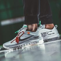Nike AIR MAX 97 Unisex Street Style Collaboration Logo Sneakers