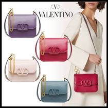 VALENTINO  VSLING Casual Style Calfskin 2WAY Party Style Elegant Style