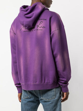 MARTINE ROSE Hoodies Pullovers Street Style Long Sleeves Cotton Logo Designers 4