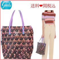 gabs Casual Style Plain Leather Handbags