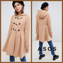 ASOS Casual Style Plain Medium Duffle Coats