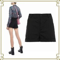 RED VALENTINO Short Casual Style Plain Shorts