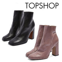 TOPSHOP Casual Style Other Animal Patterns Leather Elegant Style