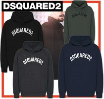 D SQUARED2 Unisex Street Style Long Sleeves Hoodies