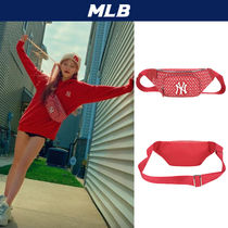 MLB Korea Casual Style Unisex Street Style Shoulder Bags