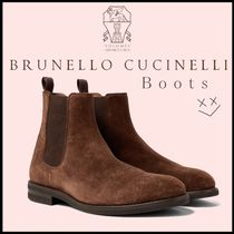 BRUNELLO CUCINELLI Suede Leather Boots