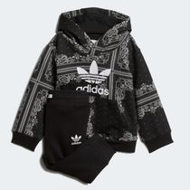 adidas INFANT ORIGINALS BANDANA HOODIE SET DW3844