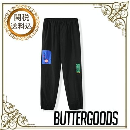 Nylon Logo Joggers & Sweatpants
