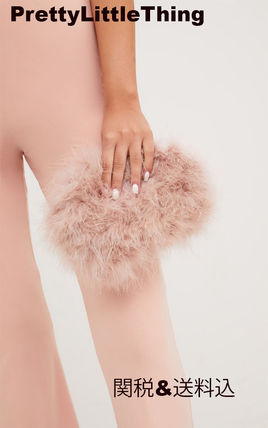 Casual Style Faux Fur Plain Party Style Elegant Style