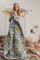 Urban Outfitters Flower Patterns Ethnic Throws