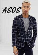 ASOS Short Other Check Patterns Street Style Blazers Jackets