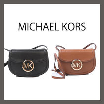 Michael Kors Casual Style 2WAY Plain Leather Hip Packs