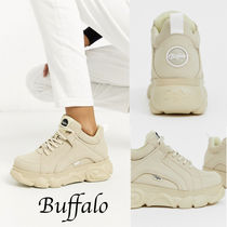 Buffalo LONDON Casual Style Street Style Chunky Heels Low-Top Sneakers