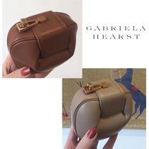 GABRIELA HEARST Plain Leather Pouches & Cosmetic Bags