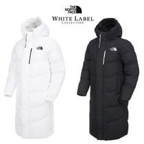 THE NORTH FACE Other Check Patterns Unisex Nylon Plain Long Down Jackets