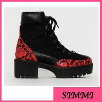 SIMMI Platform Ankle & Booties Boots