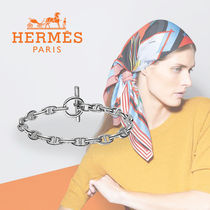 HERMES Chaine dAncre Party Style Silver Elegant Style Formal Style  Bracelets