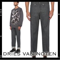 Dries Van Noten Denim Plain Cotton Jeans & Denim
