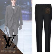 Louis Vuitton Tapered Pants Wool Tapered Pants