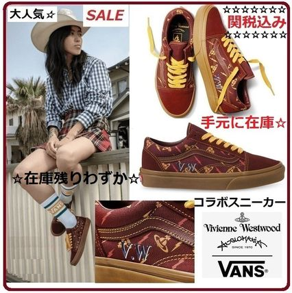 Plain Toe Rubber Sole Casual Style Unisex Suede Street Style