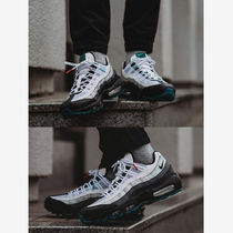 Nike AIR MAX 95 Blended Fabrics Street Style Plain PVC Clothing Dad Sneakers