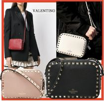 VALENTINO Street Style Shoulder Bags