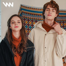WV PROJECT Unisex Street Style Plain Oversized Jackets