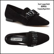 Karl Lagerfeld Suede Loafer & Moccasin Shoes
