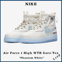 Nike AIR FORCE 1 Unisex Street Style Collaboration Sneakers