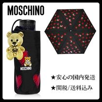 Moschino Heart Other Animal Patterns Umbrellas & Rain Goods
