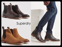 Superdry Blended Fabrics Leather Chelsea Boots Chelsea Boots