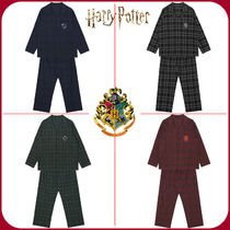 SPAO Tartan Unisex Collaboration Cotton Lounge & Sleepwear