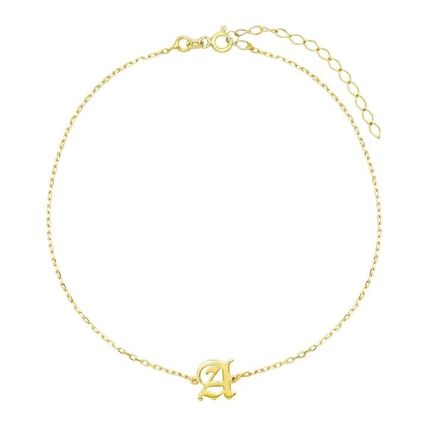 Costume Jewelry Initial Anklets