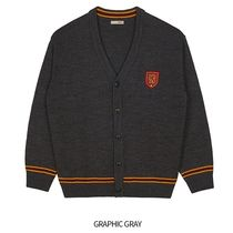 SPAO Unisex Collaboration Logo Cardigans